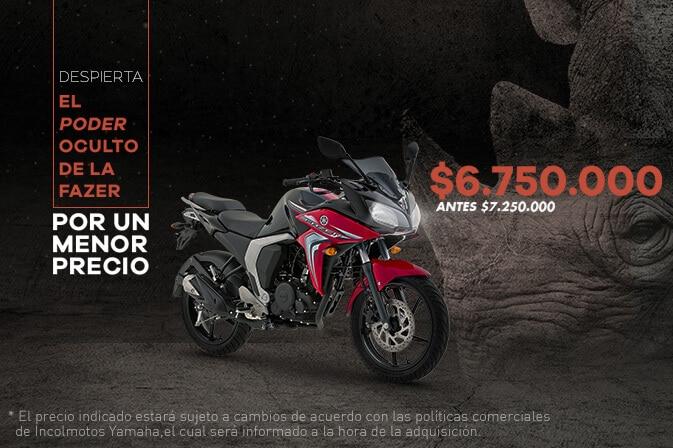 Yamaha-Fazer-nuevos-precios-2017