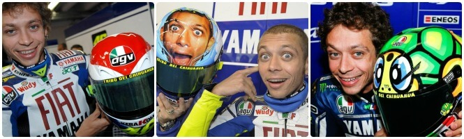 rossi-cascos-motogp-collage
