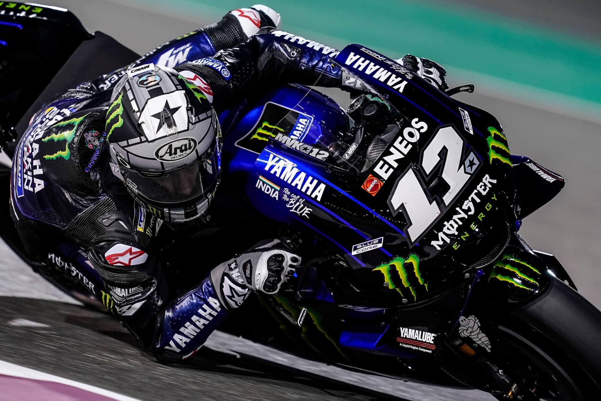 Maverick Vinñales Yamaha MotoGP Qatar 2019