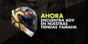 ¡Ahora podrás comprar tu casco AGV en nuestras Tiendas Yamaha!