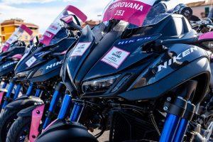 Niken en el Giro de Italia