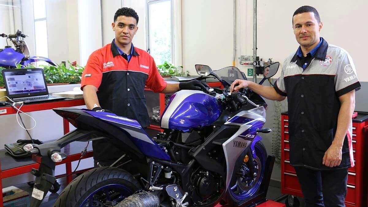 Yamaha Revisión técnico mecánica