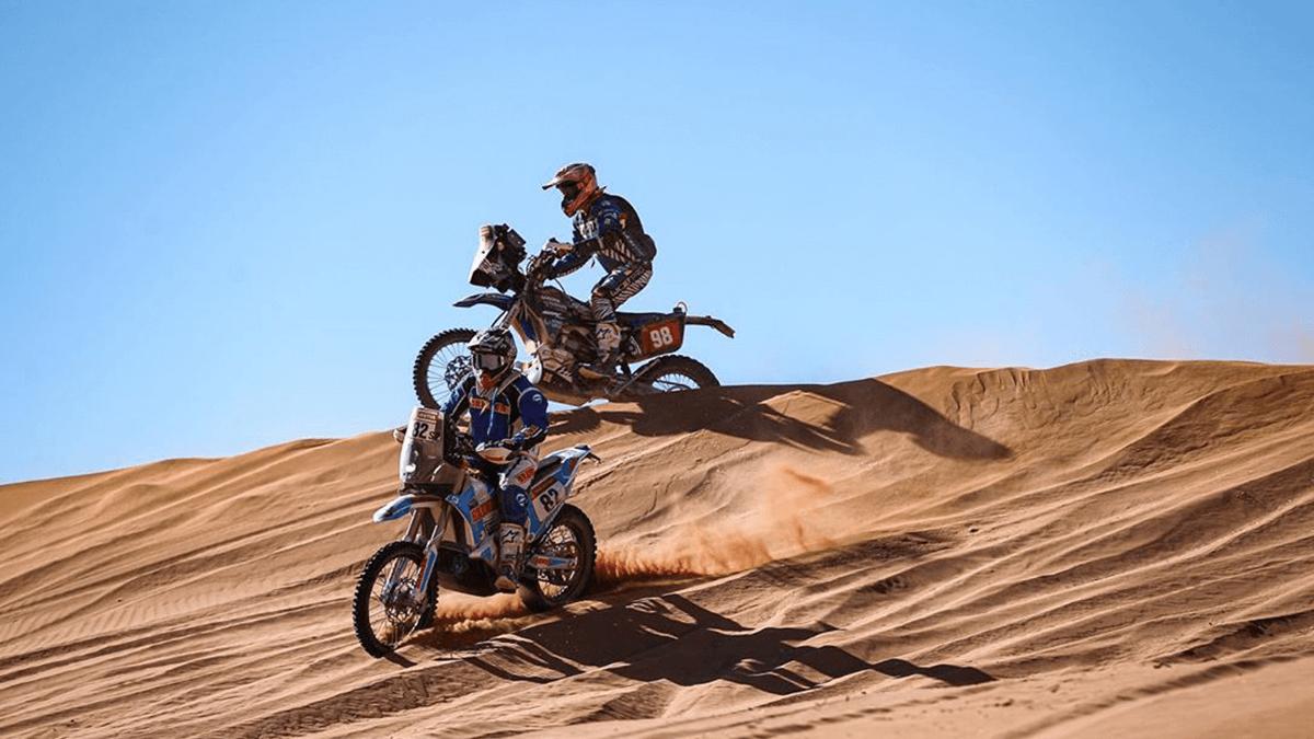 Yamaha Dakar Sara y Javier