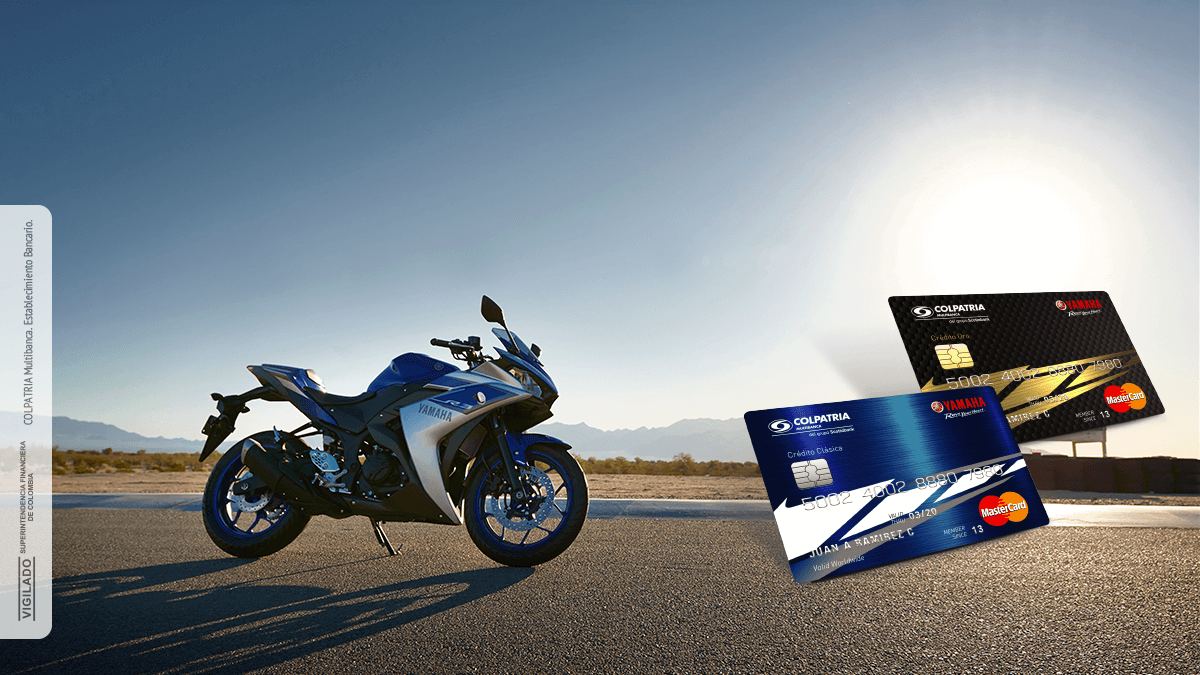 Tarjeta de Crédito Yamaha Colpatria