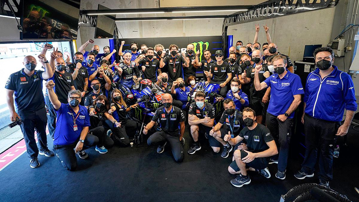 Doble podio para Yamaha en MotoGP Assen