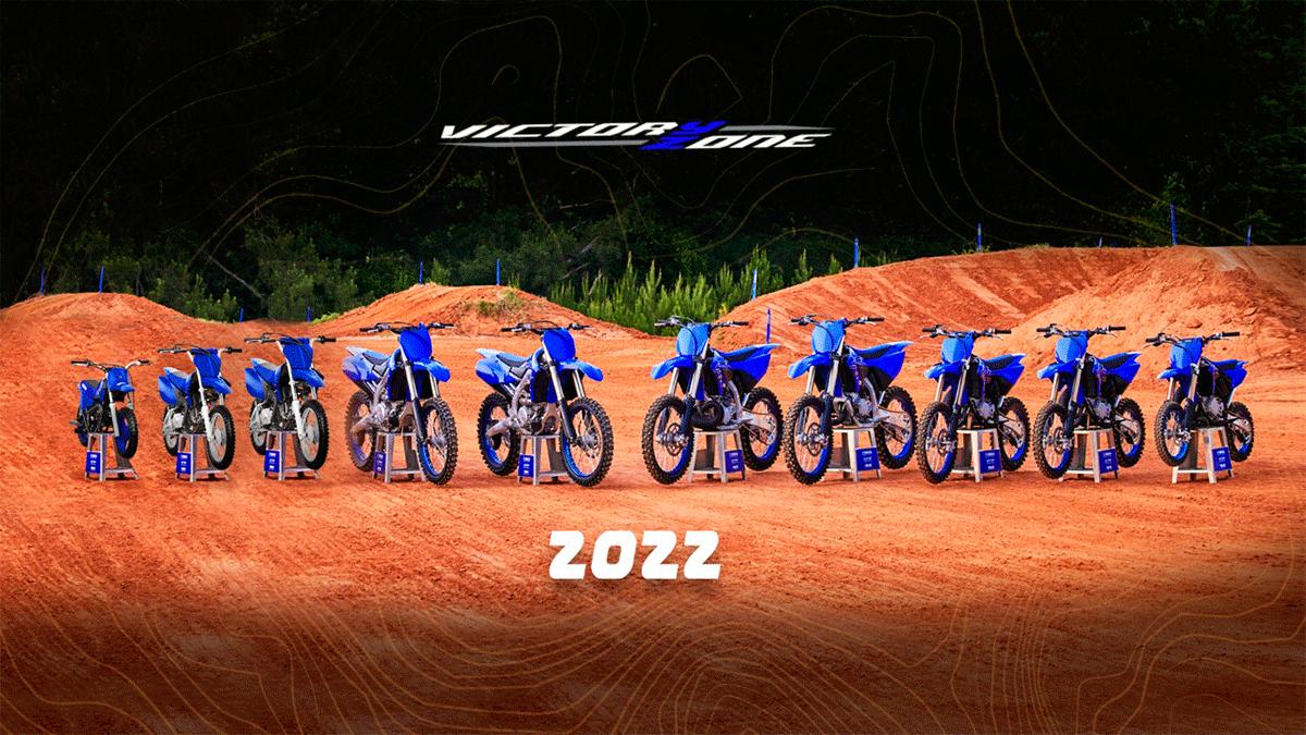 Nuevas Yamaha Motocross 2022