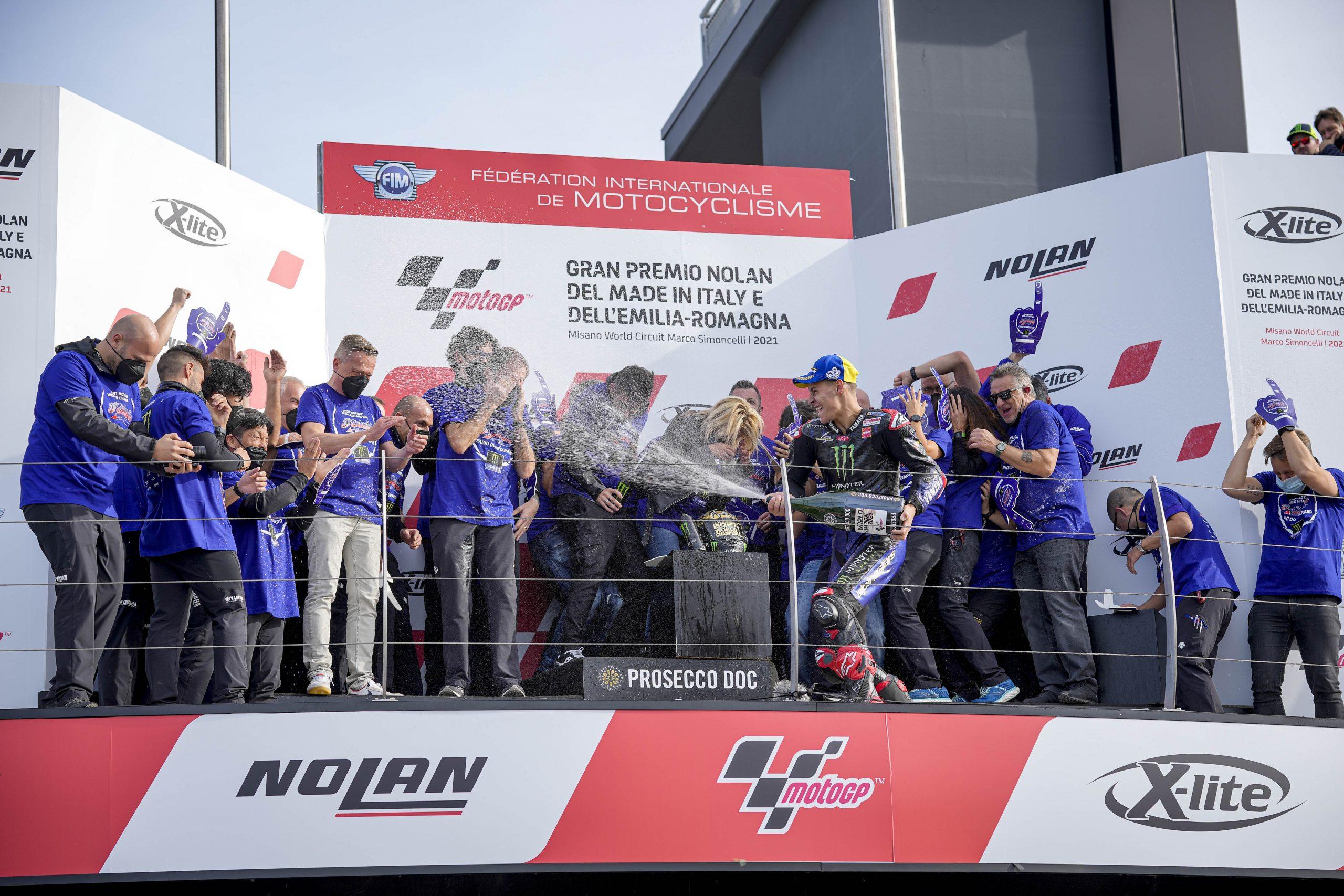 Fabio Quartararo Campeón con Yamaha